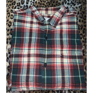 Polo Ralph Lauren button down plaid shirt sz XL
